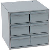 Durham Steel Storage Parts Drawer Cabinet 001-95 - 6 Drawers