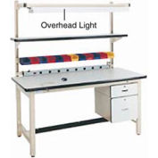 "60"" Overhead Light - Beige"