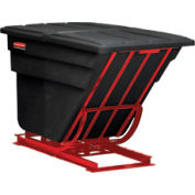 Rubbermaid® 1069 2 Cu. Yd. Self-Dumping Hopper with Forklift Base