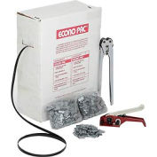"""Polypropylene Strapping Kit 1/2"""" x 7,200' Coil With Tensioner, Sealer & Seals"""