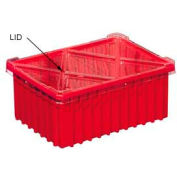 Akro-Mils 33011 Lid - 0-7/8 x 8-1/4 For Grid Box 33105 - Pkg Qty 10