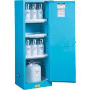 Acid Corrosive Cabinet Self Close Single Doors Vertical Storage