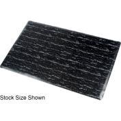 Marbleized Top Matting 4 Ft X 60 Ft Roll Black