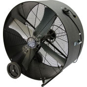 "TPI 42"" Portable Blower Fan Belt Drive PB42B 3/4 HP 18200 CFM"