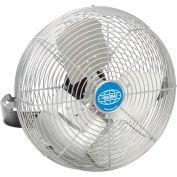 """Global Industrial™ 24"""" Industrial Workstation Fan - Yoke Mount - 8000 CFM - 1/3 HP"""