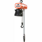 CM Valuestar Electric Chain Hoist with Chain Container - 1,000 lb. Capacity