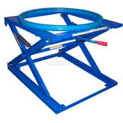 Vestil Pallet & Skid Carousel Turntable Rotating Ring with Stand 4000 Lb. Cap.