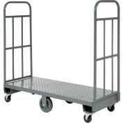 Best Value Steel Deck High-End Narrow Aisle U-Boat Platform Truck 60 x 16 1500 Lb. Capacity