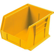 Akro-Mils 30239 Yellow Bins Case of 12 for Two-In-One Plastic Stock & Utility ProCarts - Pkg Qty 12
