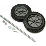 "Universal Mold-On 8"" Rubber Hand Truck Wheel Kit"