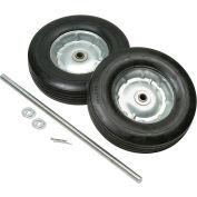Universal Semi-Pneumatic 10 Inch Hand Truck Wheel Kit