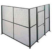 Husky Rack & Wire EZ Wire Mesh Partition Component Panel 8'Wx8'H