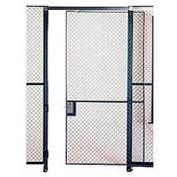 Husky Rack & Wire EZ Wire Mesh Partition Sliding Door - 8'Wx8'H