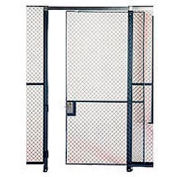 Husky Rack & Wire EZ Wire Mesh Partition Sliding Door - 4'Wx10'H