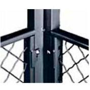 Husky Rack & Wire EZ Wire Mesh Partition Corner Post 10' High
