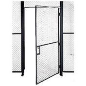 Husky Rack & Wire EZ Wire Mesh Partition Hinged Door - 3'Wx10'H
