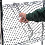 24 X 4 Shelf Retainer/Divider