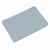 "Lid COV91000 for Plastic Dividable Grid Container, 10-7/8""L x 8-1/4""W, Gray - Pkg Qty 10"