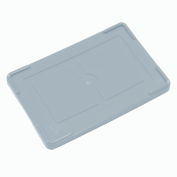 "Lid COV93000 for Plastic Dividable Grid Container, 22-1/2""L x 17-1/2""W, Gray - Pkg Qty 3"