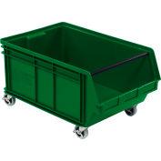 Quantum Mobile Magnum Plastic Stackable Storage Bin QMS843MOB 18-3/8 x 29 x 14-7/8
