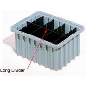 Akro-Mils Short Divider 41220 For Akro-Grids Dividable Grid Containers 33220 Pack Of 6