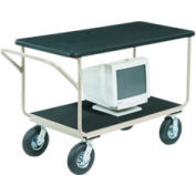 "Instrument Cart 48 x 24 With 8"" Casters"