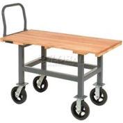 Jamco Work Height Platform Truck AH360 Wood Deck Adjustable Height