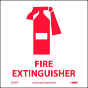 Graphic Facility Signs - Fire Extinguisher - Vinyl 4x4