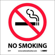 Graphic Facility Signs - No Smoking - Vinyl 7x7
