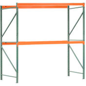 "Interlake Mecalux Pallet Rack Tear Drop Starter 96""W x 48""D x 96""H"