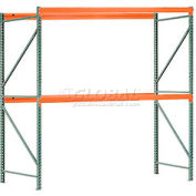 "Interlake Mecalux Pallet Rack Tear Drop Starter 120""W x 36""D x 120""H"