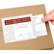 Clear Shipping Envelope - Packing List Enclosed - Box of 1000