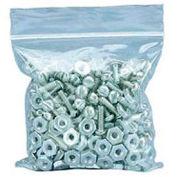 "Zipper-Lock Poly Bags 8"" x 4"" 2 Mil 1,000 Pack"