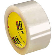 "3M Carton Sealing Tape 373 2"" x 55 Yds 2.5 Mil Clear - Pkg Qty 36"
