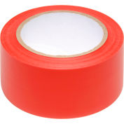 "INCOM® Safety Tape Solid Red, 3""W x 108'L, 1 Roll"
