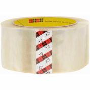 "3M™ 375 Carton Sealing Tape 2"" x 55 Yds. 3.1 Mil Clear - Pkg Qty 36"