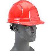 ERB™ 19952 Omega II Hard Hat, 6-Point Ratchet Suspension, Red