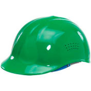 ERB™ 19118 Vented 4-Point Suspension Bump Cap, Green