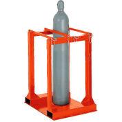 Cylinder Storage Forkliftable Caddy
