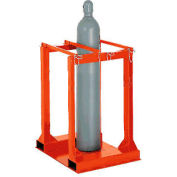 Cylinder Storage Mobile Forkliftable Caddy