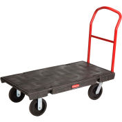 Rubbermaid® 4436 Plastic Deck Platform Truck 48 x 24 2000 Lb. Capacity