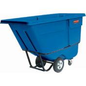 Rubbermaid® 1305 Standard Duty 1/2 Cu. Yd. Blue Tilt Truck