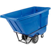 Rubbermaid® 1315 Standard Duty 1 Cu. Yd. Blue Tilt Truck