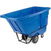 Rubbermaid® 1315 Standard Duty 1 Cu. Yd. Blue Tilt Truck