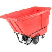 Rubbermaid® 1315 Standard Duty 1 Cu. Yd. Red Tilt Truck