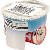 Rubbermaid® Automatic Deodorizer Replacement Gel Cassette Ocean Breeze 6/Case - FG9C85010000