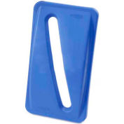 Paper Recycling Lid for Rubbermaid Recycling Container - Blue