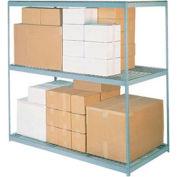 "High Capacity Wire Deck Shelf 72""W x 36""D"