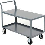 2 Shelf All-Welded Heavy Duty Service Cart 48 x 30 2000 Lb. Capacity