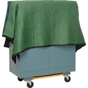 American Moving Supplies FP2009 ProMulti Protective Quilted Moving Blanket Pads - Pkg Qty 12
